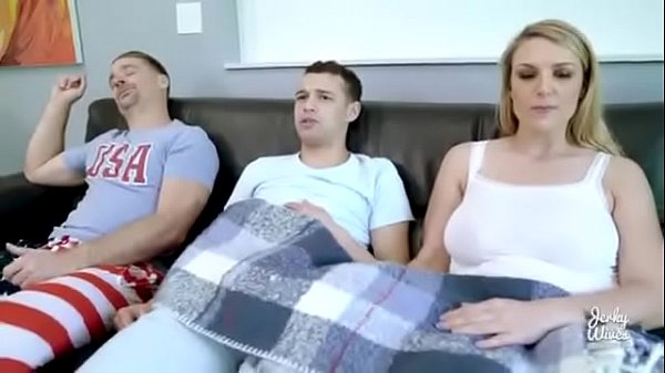 Big boobs mom forcing son and in front of dad mom fucks son