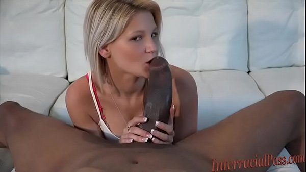 Tiny Blonde Hottie takes biggest interracial black cock porn xxx