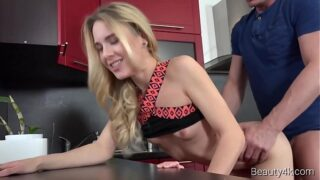Beauty xnxx com – Alecia Fox – Kitchen fuck for a slutty big-boobed HD Porn